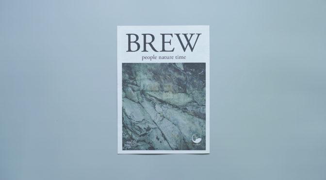 MASUMI | BREW | Vol.01 | OWNED MEDIA | PAPERDESIGN